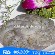 Peeled deveined vannamei white shrimp