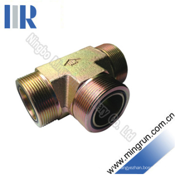 Orfs Male O-Ring Tee Adapter Hydraulic Tube Fitting (AF)