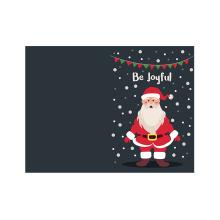 Carte de voeux personnalisée Carte de voeux de Noël et enveloppe