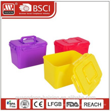 BPA free promoção armazenamento plástico recipiente cheio impressão