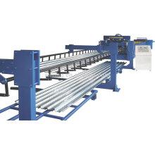 Painel de telhado em aço galvanizado Painel de piso Rollo de formação de empilhador de máquina