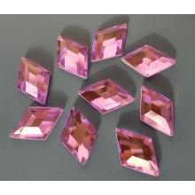 Flat Back Crystal Rhinestones Beads Color Ab para accesorios de prendas de vestir