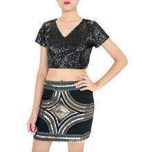 Evening Party Mini Sequin Skirt