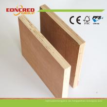 Chinesischer Hersteller 2mm-30mm Okoume / Pine Fancy Commercial Sperrholz