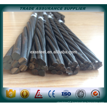 Low price high tensile 1860mpa pc strand