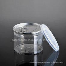 300ml alumínio tampa alimentar embalagem de plástico pode (PPC-CSRN-042)