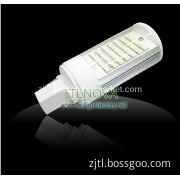 G24 PLC LED Lamp corn with Isolated Driver 85-265V 13W 64SMD