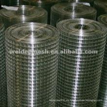 Especificaciones de malla de alambre soldadas de acero inoxidable