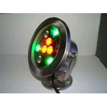 Lumière extérieure souterraine de la lampe RVB LED de 24V LED