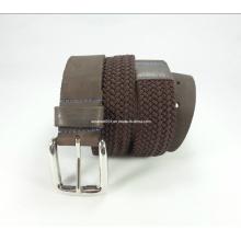 Newly-Designed Elastic Woven Leather Belt