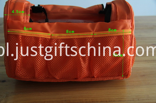Promotional Embroidered Toiletry Bags W Metal Hook For Hanging (5)
