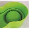 Anti-Ant Plastic Pet Bowl - Blue