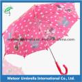 19inches Straight Automatic Abrir Impressão Cute Crianças Umbrella
