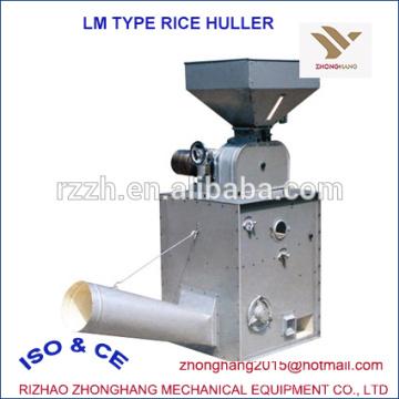 Molinero de arroz tipo LM con rodillo de goma