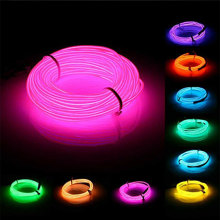 Tube Wire Neon Glow Car Rope Strip Light