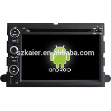 2 din android 4.2 constante dual core sistema de entretenimento do carro para Ford Explorer / Expedição / Mustang / Fusão com GPS / Bluetooth / TV / 3G