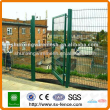 metal wire mesh garden fence gate