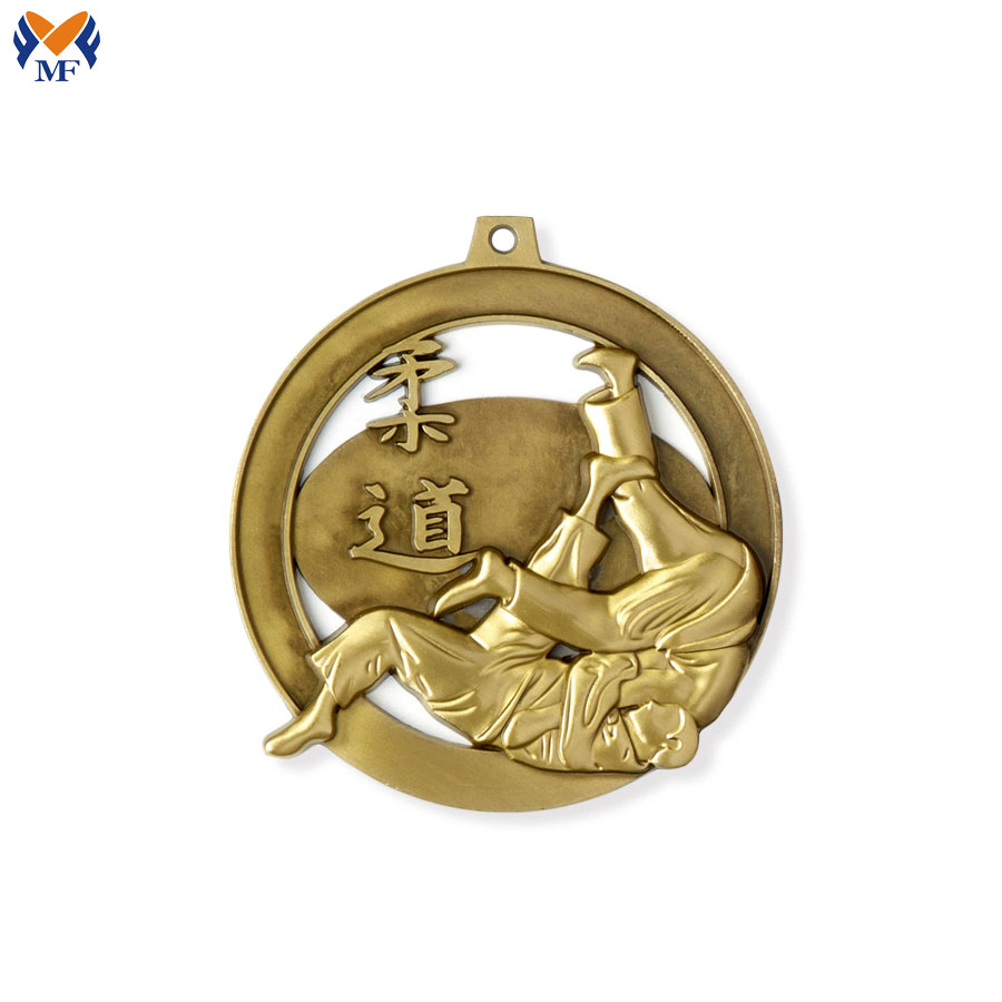 Metal Judo Medal