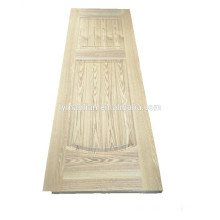 Melamine door design/decorative bathroom doors/wood veneer door skin