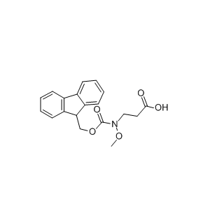 N-Fmoc-N-Methoxy-3-Aminopropionic кислота CAS 247021-90-5