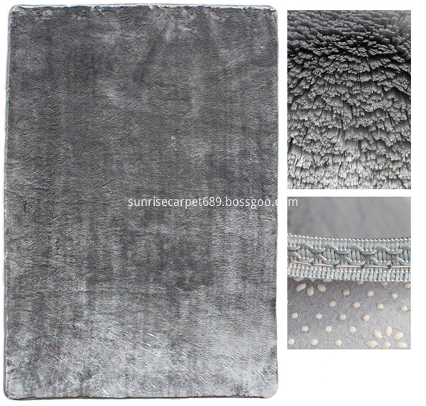 Imitation fur carpet