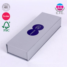 nueva caja de lápices de papel cardboad de plata de diseño