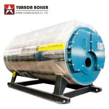 Caldera de vapor de aceite residual de tubo de fuego horizontal