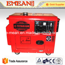 Super Silent Elektrischer Start Diesel Generator (ED6000SE)