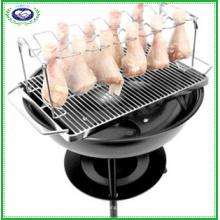 12-Slot Bein und Flügel Grill Rack für Geflügel