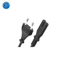 Fonte do fabricante de China UE 2 Plug Power Cord com qualidade superior