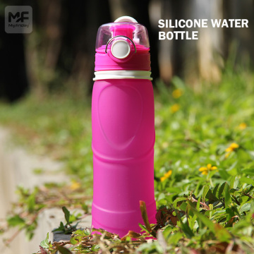 Ibhodlela le-Edible Grade Silicone Water Retractable