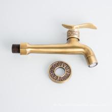 Long neck bronze brass bibcock for bathroom