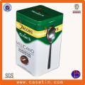 Recipientes herméticos claros, Recipiente de café de metal à prova de ar personalizado