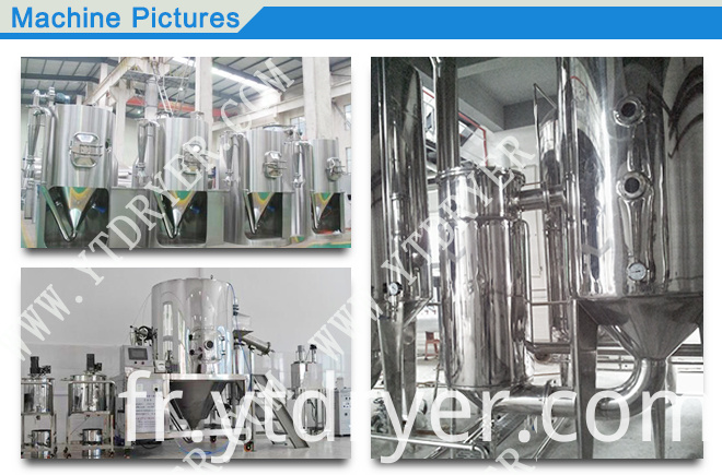 ZPG spray dryer for the extract of Chinese traditional medicine
