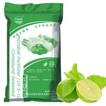 NPK compuesto con certificación SGS y extracto de algas