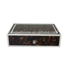 Luxury pen shell hotel storage box for hotel amenity