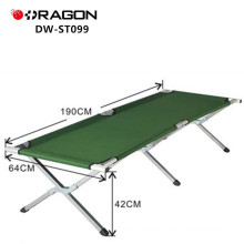 DW-ST099 Aluminum military folding camping bed for sale