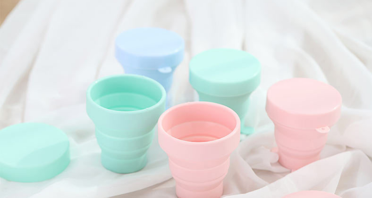 silicone folding cup