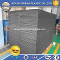 feuilles PVC haute densité bon marché noir / blanc