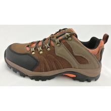 Zapatos de escalada para hombres con MD Sole, cuero de gamuza