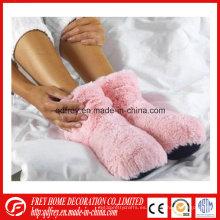 Venta caliente de lavanda de trigo Bolsa Microondas Boot calentador