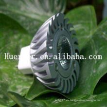 Hot Selling100LM MR16 GU10 1w llevó el proyector
