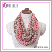 2016 Spring Leopard Sexy Women Infinity Scarf (SNBL0190)