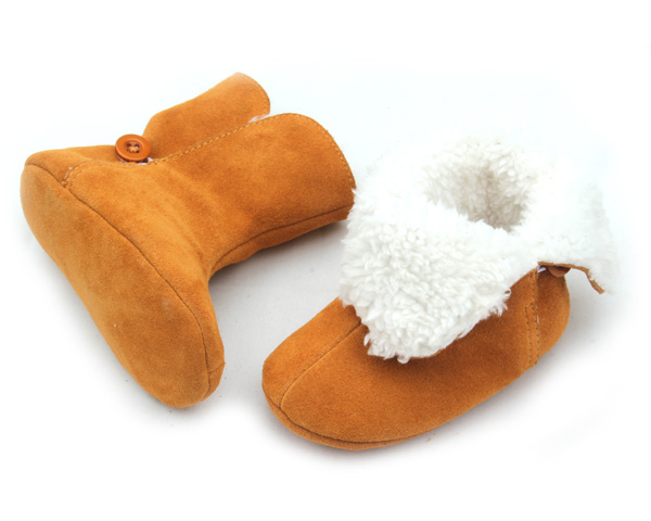Wholesale Fashion 2016 New Style Leather Baby Boots UGG