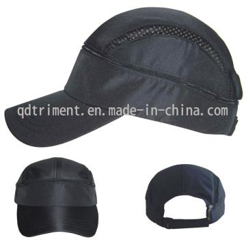Poliéster de piel de melocotón microfibra respirable deporte Racing Cap (TMR0546)
