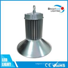 Baie élevée d'usine allumant l'appareil d'éclairage industriel élevé de baie de l'entrepôt 200W LED