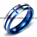 Shineme Schmucksache-Wolframkarbid-natürlicher Farben-Ring-Einlegearbeit-Holz-Ring (TST2853)