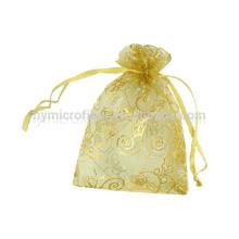 Изготовленный на заказ мешок organza с drawstring мешки подарка венчания