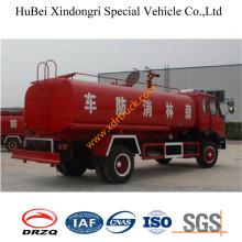 Camion d'arrosage d'incendie d'eau de 10ton Dongfeng Euro3