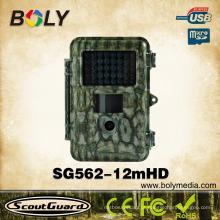 Alta tecnologia à prova d 'água visão térmica equipamentos de caça animais selvagens câmera com 12MP 720P HD